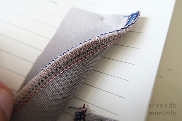 4 thread overlock stitch brother 4234d overlocker