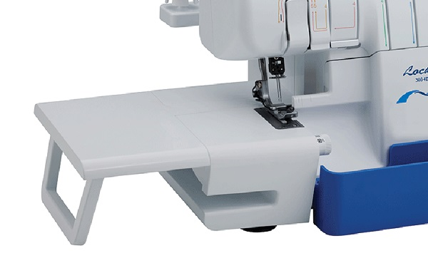 brother 2104d overlocker extension table