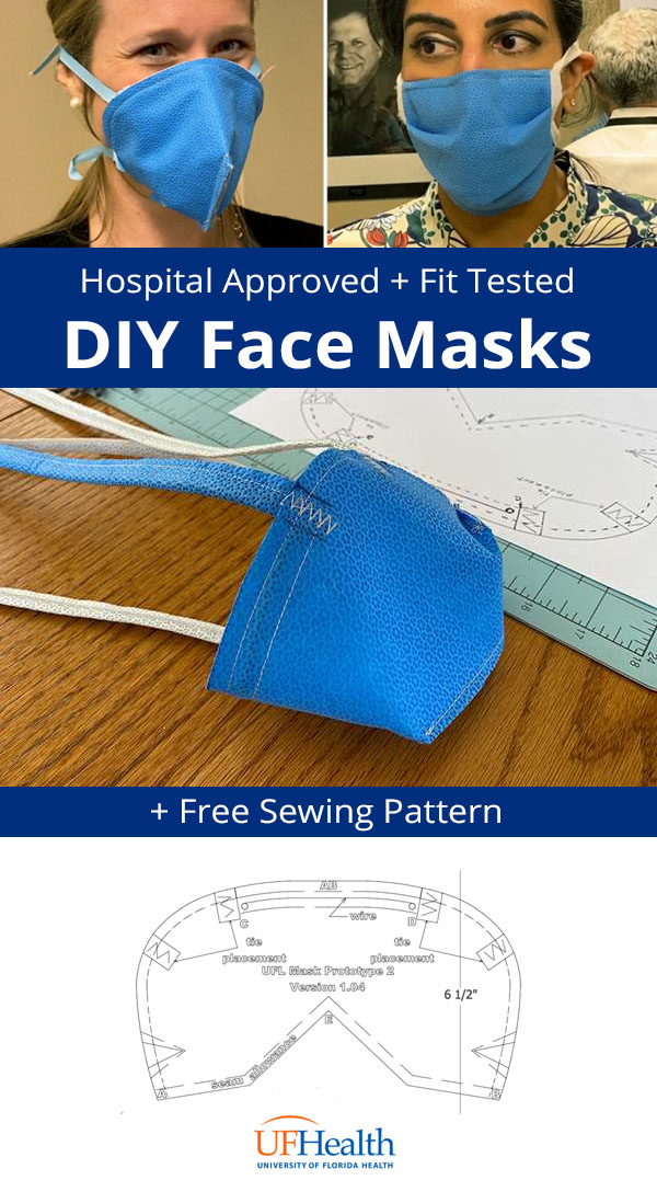 41 Printable Olson Amp Pleated Face Mask Patterns By Hospitals