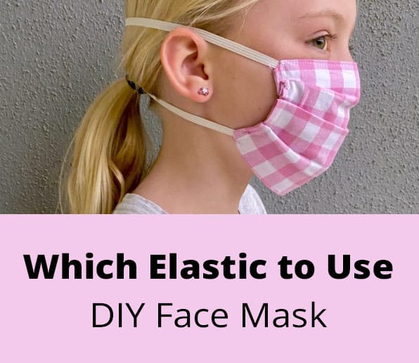 elastic for diy fabric face mask