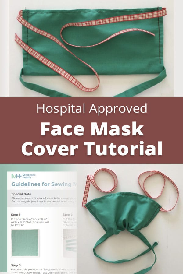 free surgical mask sewing pattern by middlesex health