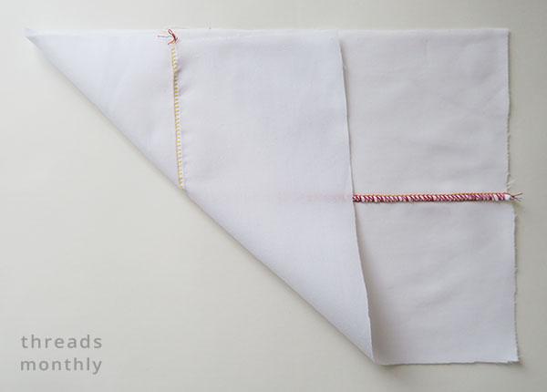 flatlock stitch on a serger / overlocker