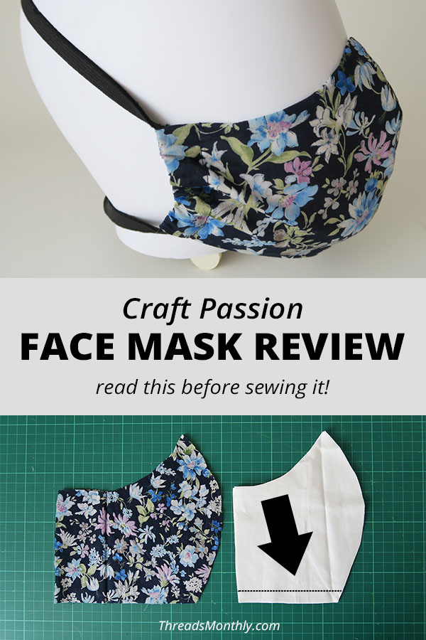 Craft Passion Mask Review – DON'T SEW Until You Read This (6 Tips)