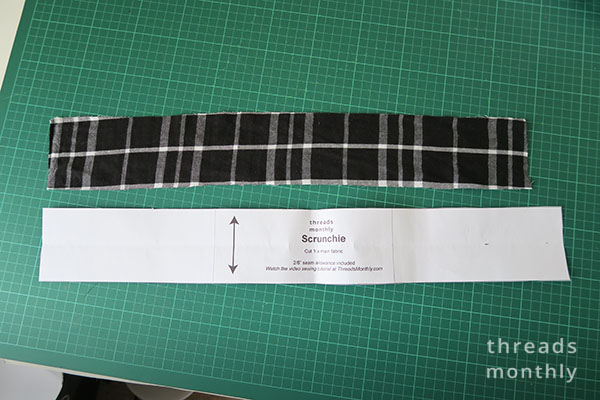 free scrunchie sewing pattern