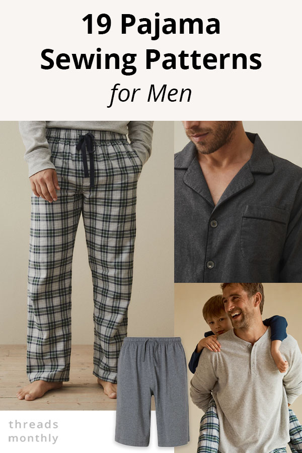 19 Pajama Sewing Patterns for Men (that Look Professional) – 5 FREE