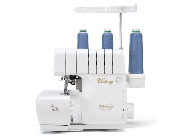 Babylock Victory overlocker with air threading and automatic tension