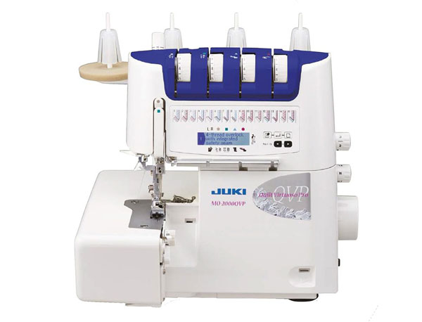 Juki m0-2000 overlocker with air threading