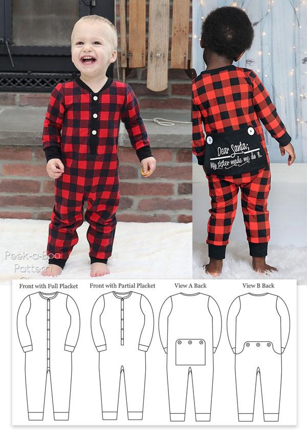 long john sewing pattern for kids