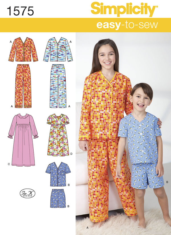 button-up pajama and nightdress for boys and girls