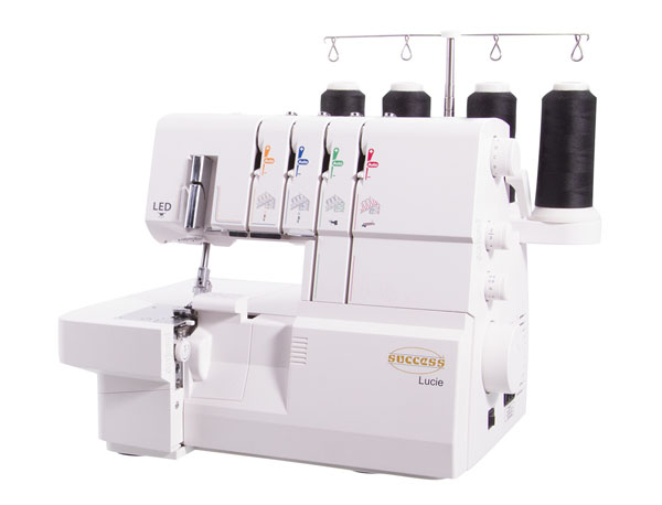 success lucie overlocker with automatic tension