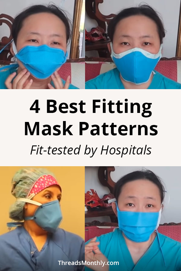 4 Best Fitted Face Mask Patterns (Fit-Tested by Hospitals)