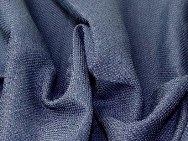navy basketweave fabric