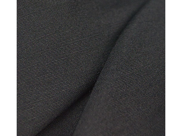 black bengaline fabric