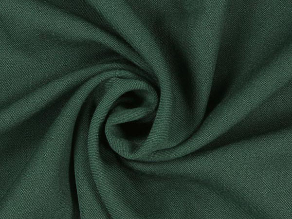 green gabardine fabric swirl