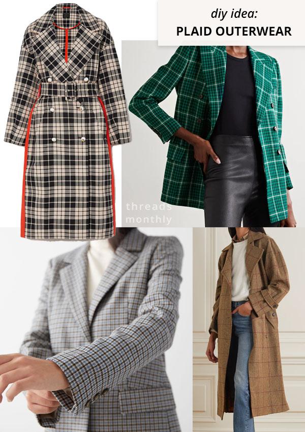 plaid jackets and coats