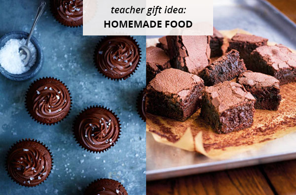 chocolate brownies and cupcakes