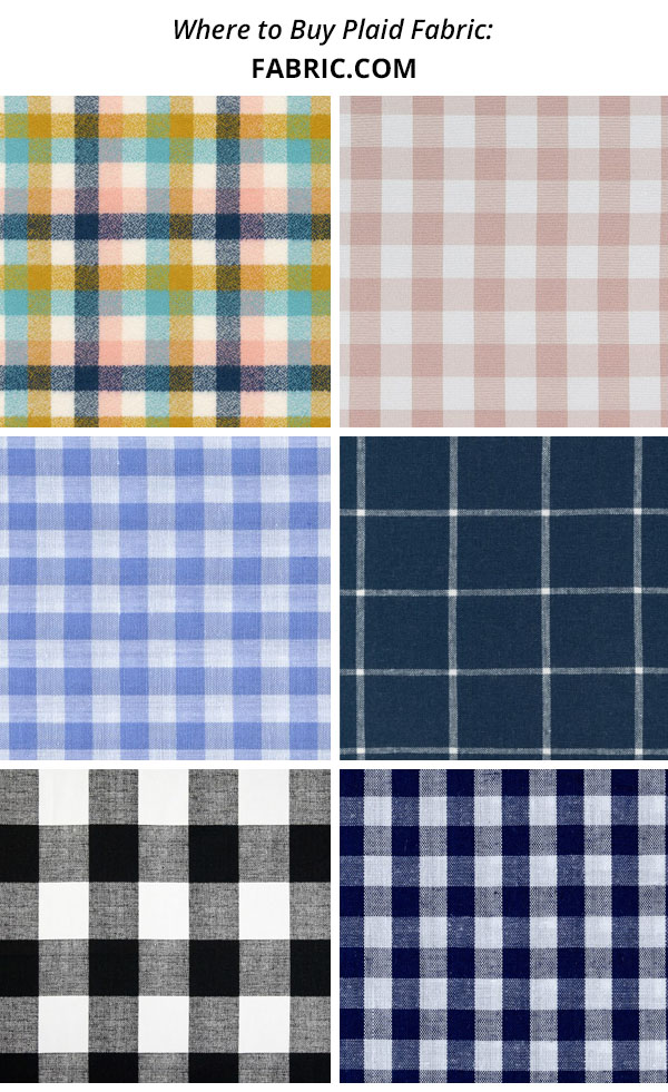 plaid, tartan, and check fabric from fabric.com