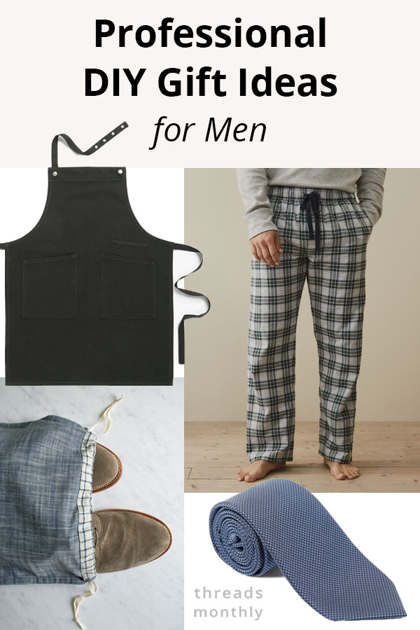 6 Professional Sewing Gift Ideas for Men (with Patterns)