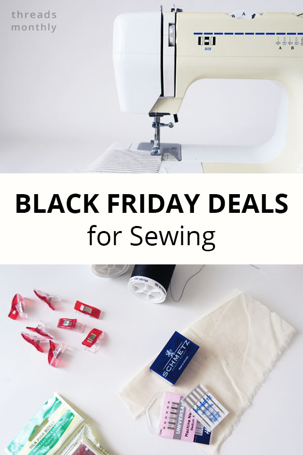 18 Black Friday Sewing Deals for 2020 (including Machines!)