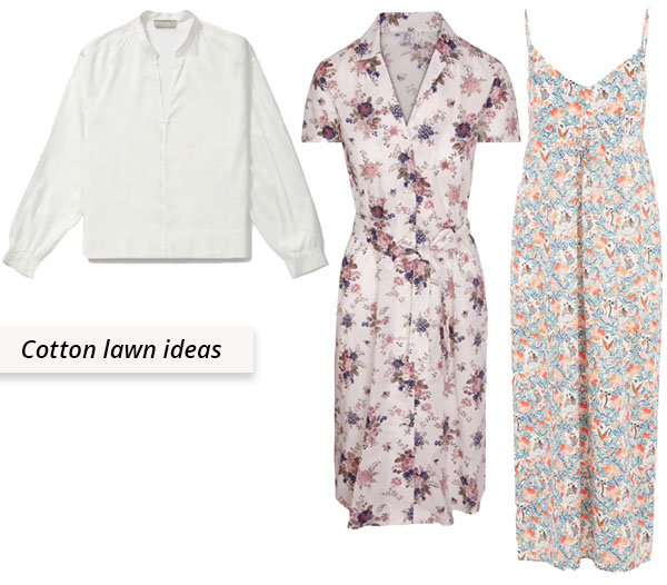 cotton lawn shirt and dresses