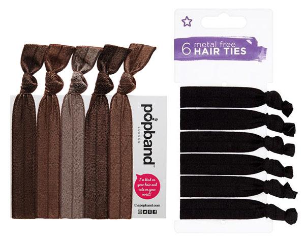 elastic hair ties