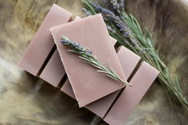 diy lavender soap bars