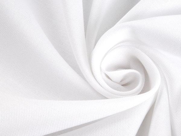 white oxford cotton fabric swirl