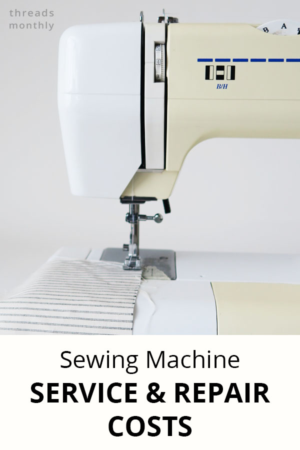 Exactly How Much a Sewing Machine Service & Repair Costs UK