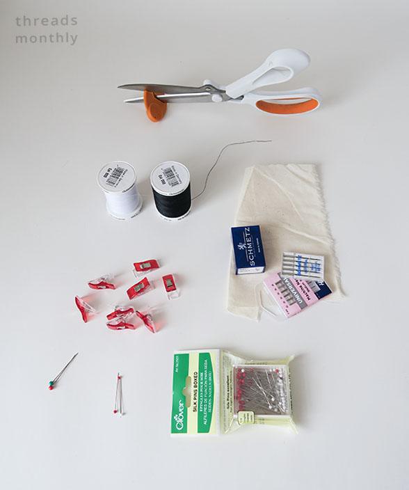 basic sewing tools
