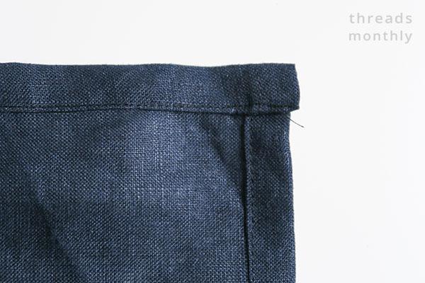 wobbly napkin corner