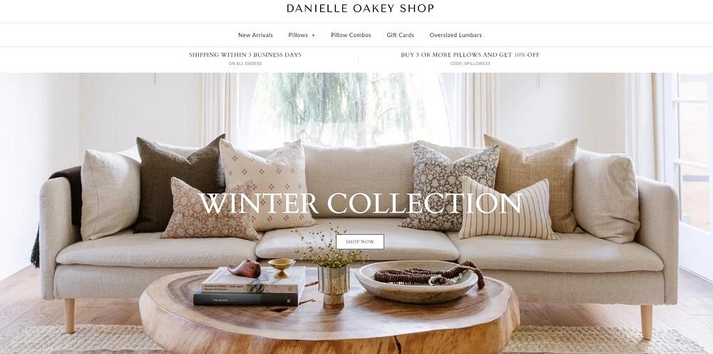 danielle oakey website