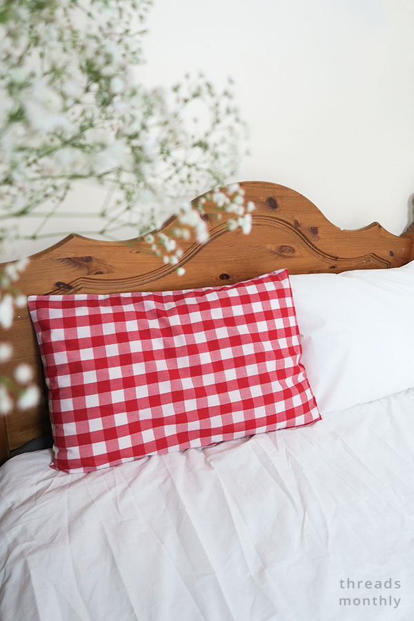 How To Make a Standard Pillowcase With Inner Flap: PRO Way
