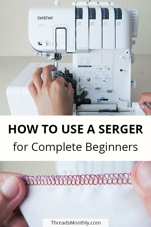 How to Thread & Use a Brother Serger in 10 Steps + Pics