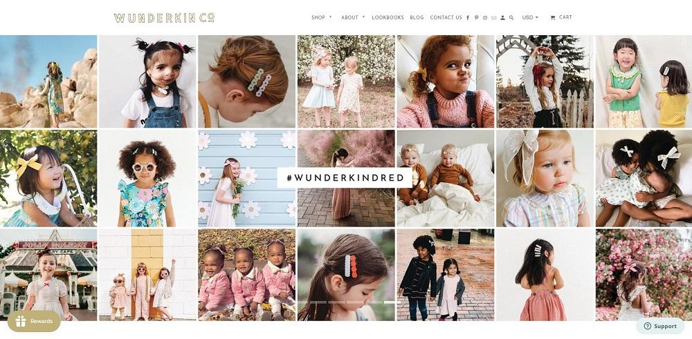 wunderkin website
