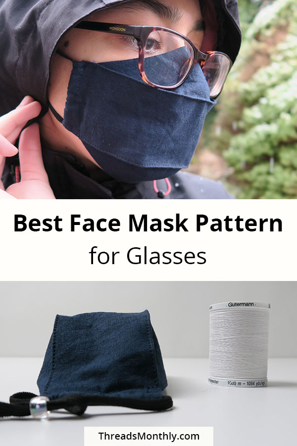 best face mask pattern for glasses