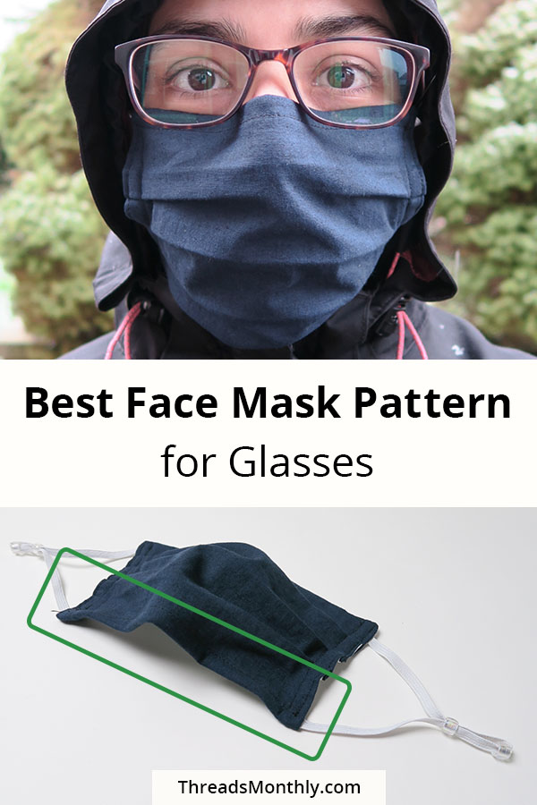 'No Fog' Face Mask Patterns for Glasses Wearers: 5 TESTED