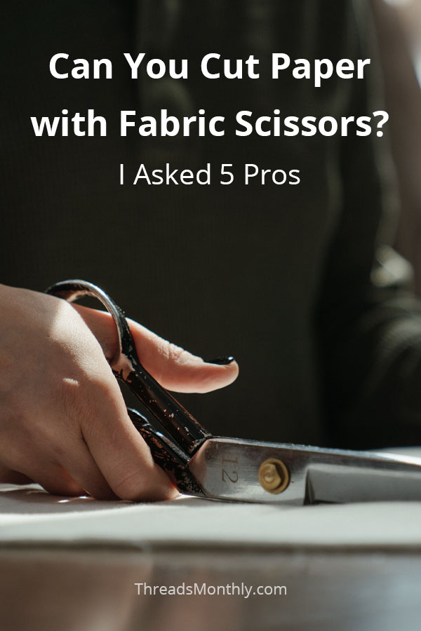 Cutting Paper with Fabric Scissors: What 5 Pros Think