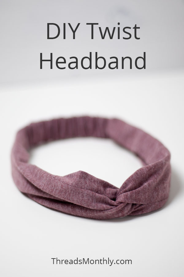 How to Make a Twisted Turban Headband: PRO Way + Free Pattern