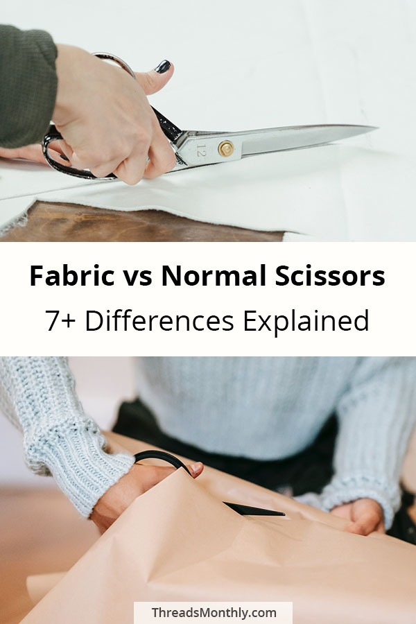 fabric vs normal scissors: 7 differences explained.